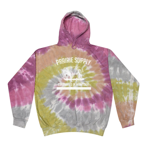 Prairie Supply Co. Unisex Hoodies - Cultivated - Desert Rose/White