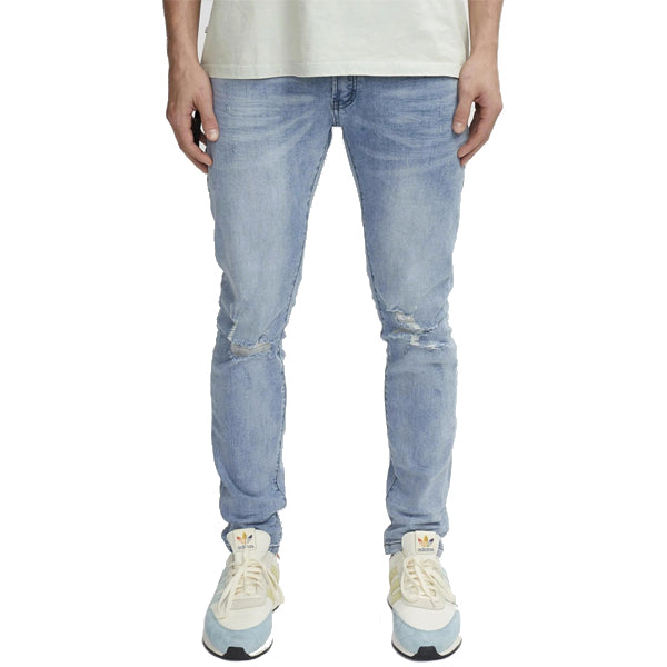 Kuwallatee Men's Pants - Destroyed Denim - Blue Grey
