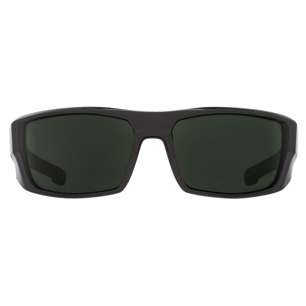 Spy Men's Sunglasses - Dirk - SOSI ANSI RX Matte Black HD Plus Grey Green