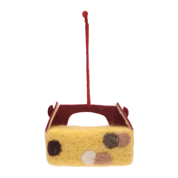 Drake General Store Home Accessories - Donut Box Felt Ornament