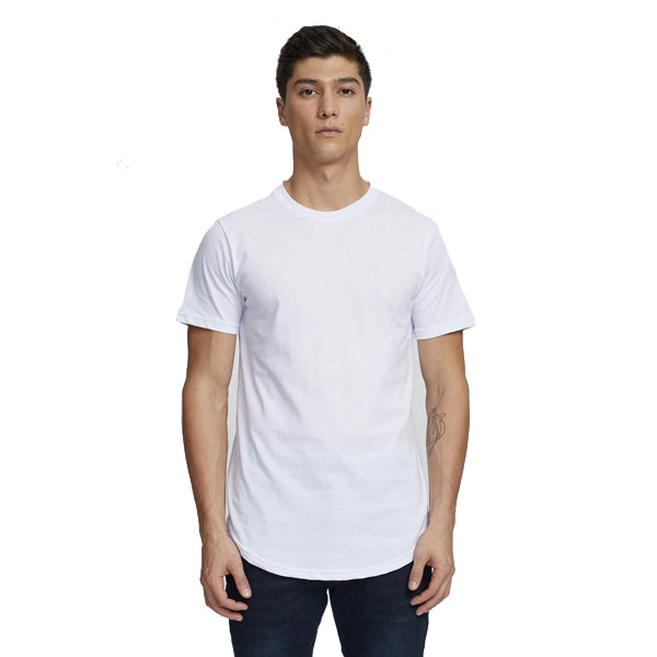 Kuwallatee Men's T-Shirts - Eazy Scoop Tee - White