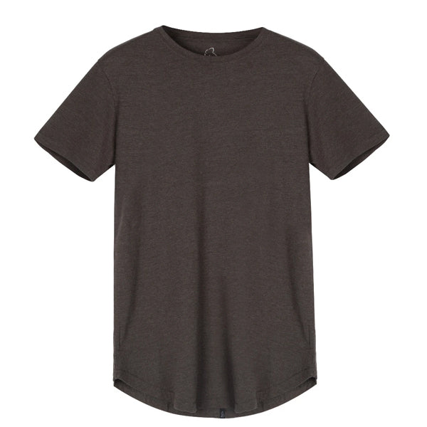 Kuwallatee Men's T-Shirts - Eazy Scoop Tee - Dark Olive