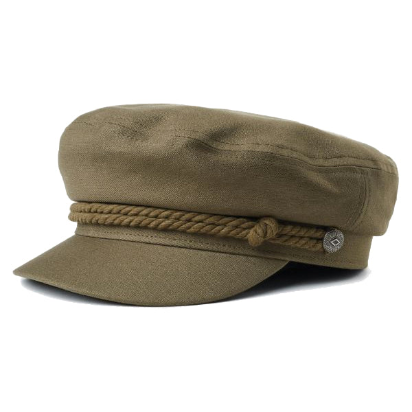 Brixton Unisex Hats - Fiddler Cap - Military Olive