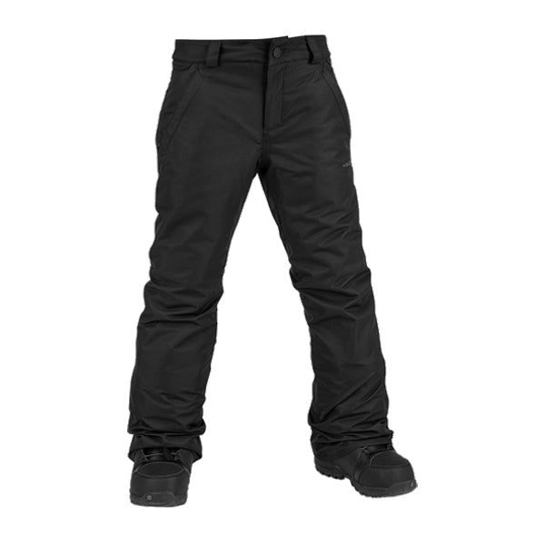 Volcom Boy's Outerwear Pants - Freakin Snow Chino - Black