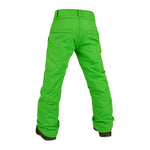 Volcom Boy's Outerwear Pants - Freakin Snow Chino - Green