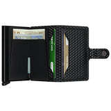 Secrid Unisex Wallets - Miniwallet - Cubic Black