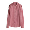 National Standards Men's Button-Ups - Japanese Mini Gingham - Red/White