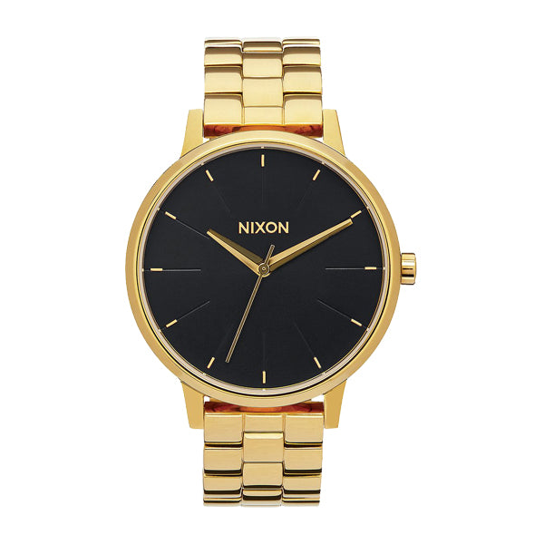 Nixon Women's Watches - Kensington - All Gold/Black Sunray