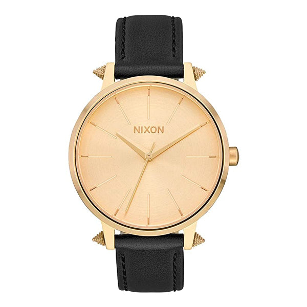 Nixon Women's Watches - Kensington Leather - Gold/Artifact