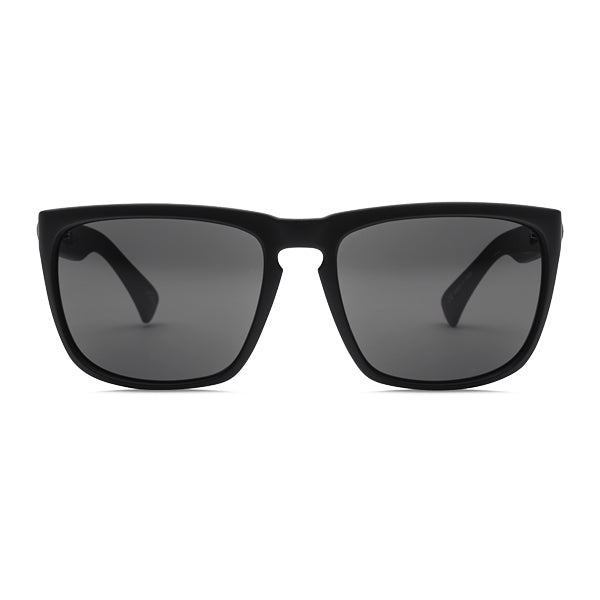Electric Unisex Sunglasses - Knoxville XL - Matte Black/OHM Grey