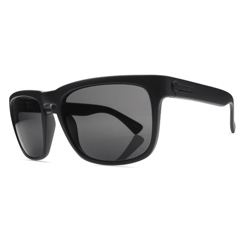 Electric Unisex Sunglasses - Knoxville - Matte Black/OHM Grey