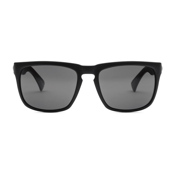 Electric Unisex Sunglasses - Knoxville - Matte Black/OHM Polarized Grey