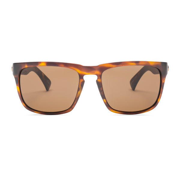 Electric Unisex Sunglasses - Knoxville - Matte Tort/OHM Bronze