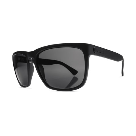 Electric Unisex Sunglasses - Knoxville XL - Matte Black/OHM Polarized Grey