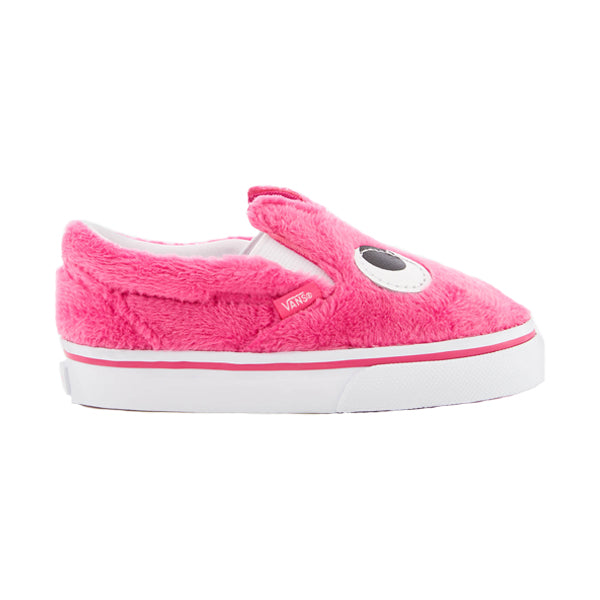 Vans Toddlers Shoes - Slip-On Friend - Magenta/True White