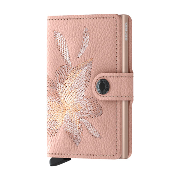 Secrid Unisex Wallets - Miniwallet - Stitch Magnolia Rose
