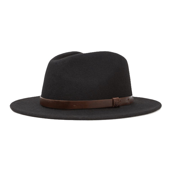 Brixton Women's Hats - Messer Fedora - Black