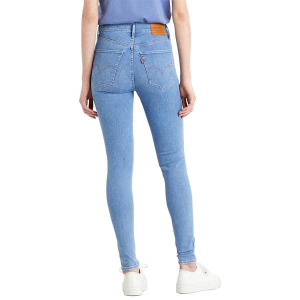 Levi's Women's Pants - Mile High Super Skinny - Galaxy Far Away
