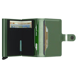 Secrid Unisex Wallets - Miniwallet - Metallic Green