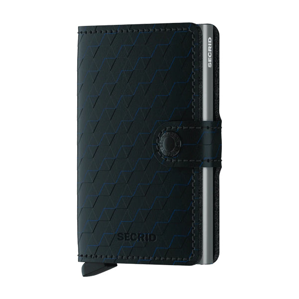 Secrid Unisex Wallets - Miniwallet - Optical Black Titanium