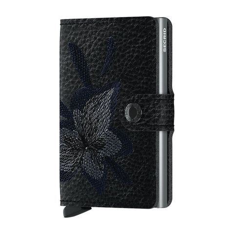 Secrid Unisex Wallets - Miniwallet - Stitch Magnolia Black