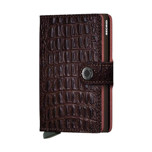 Secrid Unisex Wallets - Miniwallet - Nile Brown