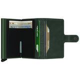 Secrid Unisex Wallets - Miniwallet - Original Green