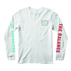 RVCA Men's Long Sleeves - Past Present - White