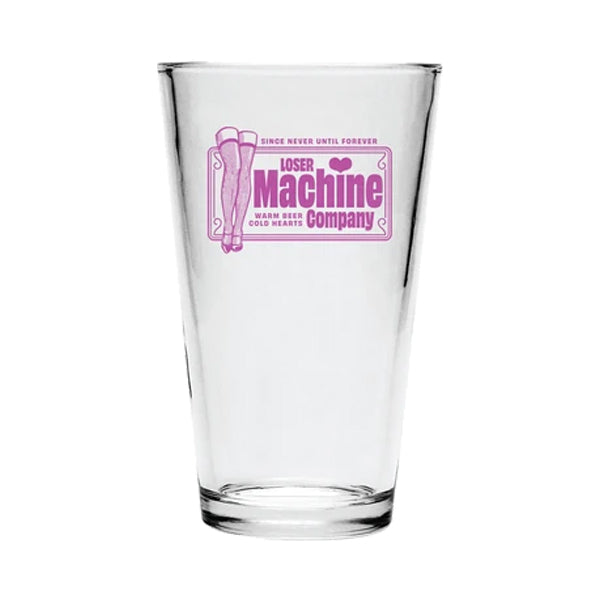 Loser Machine Glass - Cold Hearts Pint Glass