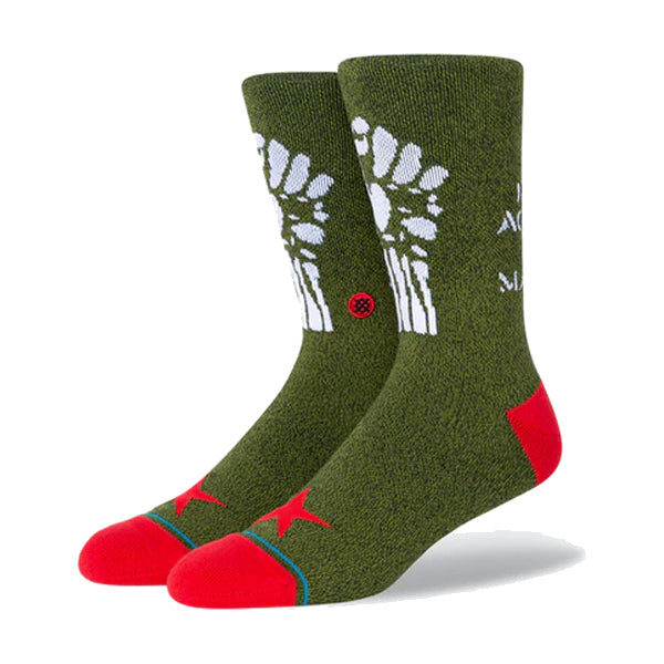 Stance Men's Socks - Renegades - Army Green