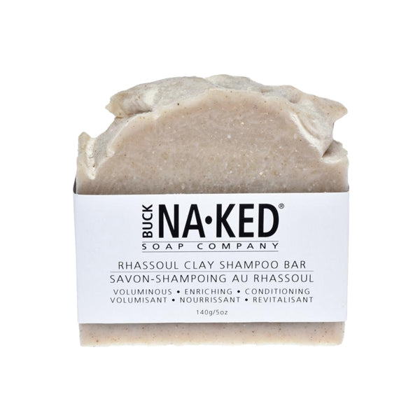 Buck Naked Soap Company - Rhassoul Clay Shampoo Bar