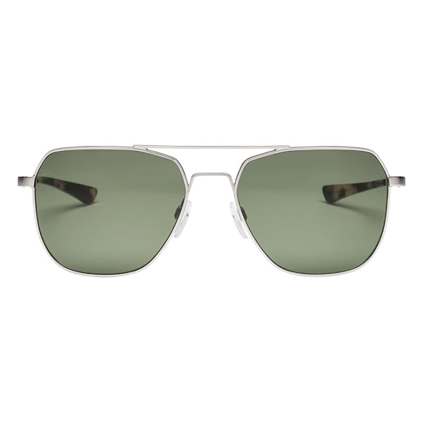 Electric Men's Sunglasses - Rodeo - Matte Silver/Grey Polarized