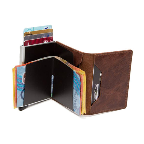 Secrid Unisex Wallets - Slimwallet - Vintage Brown