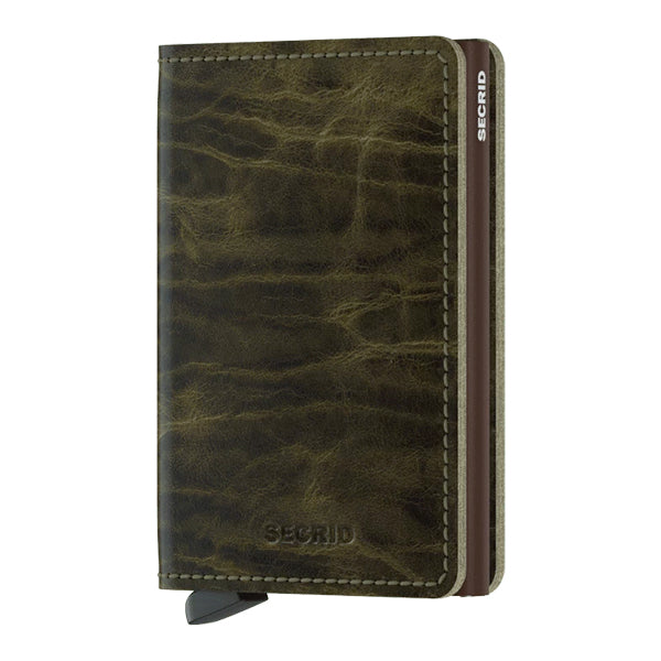 Secrid Unisex Wallets - Slimwallet - Dutch Martin Olive