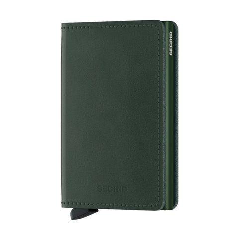 Secrid Unisex Wallets - Slimwallet - Original Green