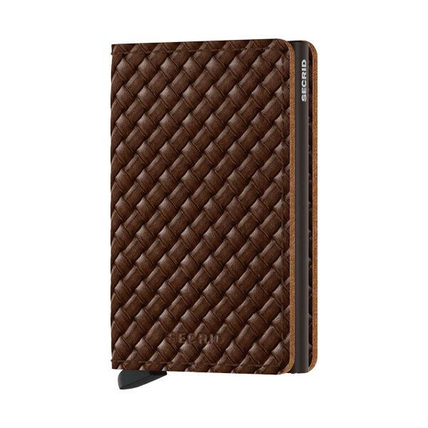 Secrid Unisex Wallets - Slimwallet - Basket Brown