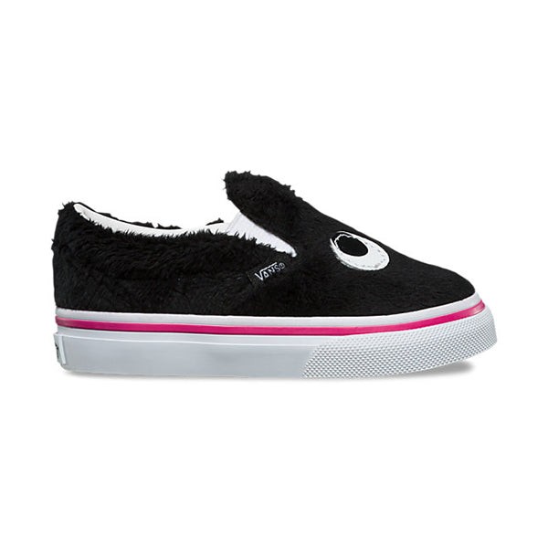 Vans Toddlers Shoes - Slip-On Friend - Party Fur/Black/True White