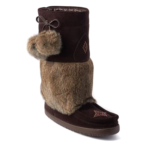 Manitobah Mukluks - Waterproof Snowy Owl - Dark Brown