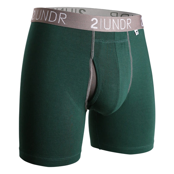 2UNDR Men's Underwear - Swing Shift - Dark Green