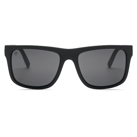 Electric Unisex Sunglasses - Swingarm XL - Matte Black/OHM Grey