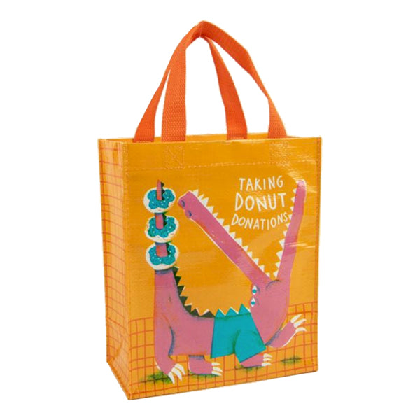 Blue Q Tote Bags - Taking Donut Donations Handy Tote - Multi