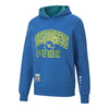 Puma x The Hundreds Men's Hoodies - Puma x TH Reversible Hood - Olympian Blue