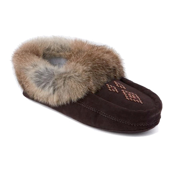 Manitobah Mukluks - Tipi Moccasin - Dark Brown