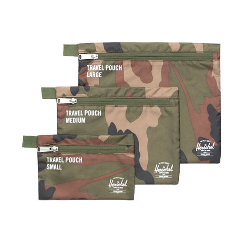 Herschel Supply Co. Toiletry Bags - Travel Pouches - Woodland Camo
