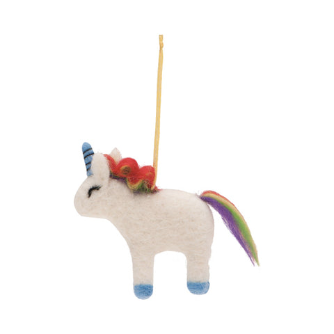 Drake General Store Home Accessories - Unicorn Felt Ornament