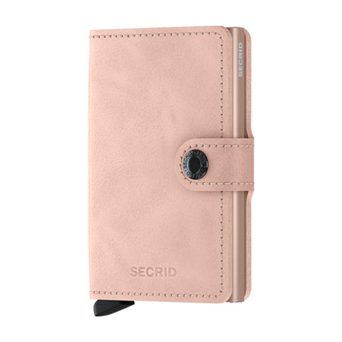 Secrid Unisex Wallets - Miniwallet - Vintage Rose