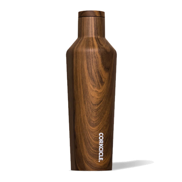 Corkcicle Origins Canteen - Walnut Wood - 16oz