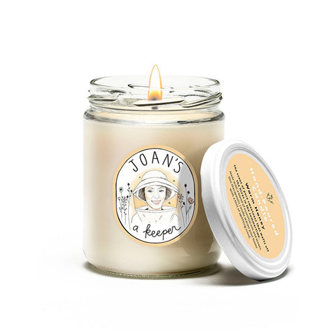 Joan's A Keeper Hand-Poured Candle - Warm Honey - 16oz