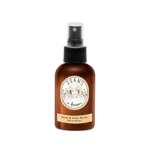 Joan's A Keeper Room & Linen Spray - Warm Honey - 4oz