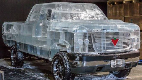 functioning ice truck in Canada